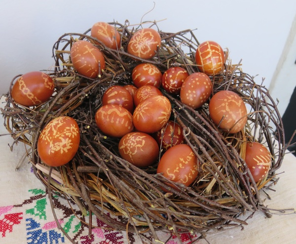 Gnijezdo pisanaca s nagrađena stola Jadranke Blagec (Snimila Božica Brkan / Oblizeki)