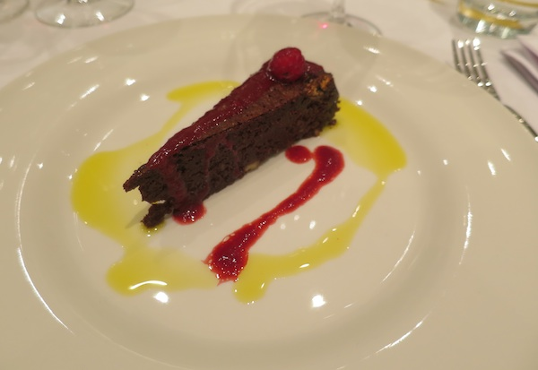 Tart uz koji je poslužen Korlat Merlot Boutique 2011 Snimila Božica Brkan / Oblizeki)