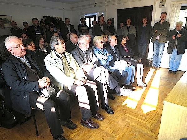 Dio publike u Profesorovu pokušalištu u Jazbini  (Snimio Miljenko brezak / Oblizeki)