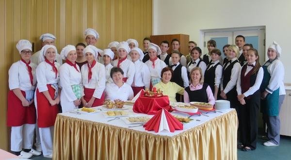Svaki sat završi svečanom prezentacijom na stranim jezicima i kušanjem (Fotografija Oblizeki)