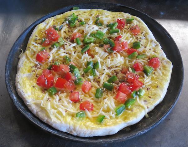 Vrlo moderna sa sirom te povrćem (Fotografija Božica Brkan / Oblizeki)