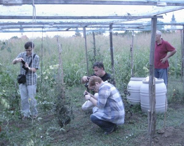 Ocjenjivački sud počeo je u - vrtu (Fotografija Miljenko brezak / Oblizeki)