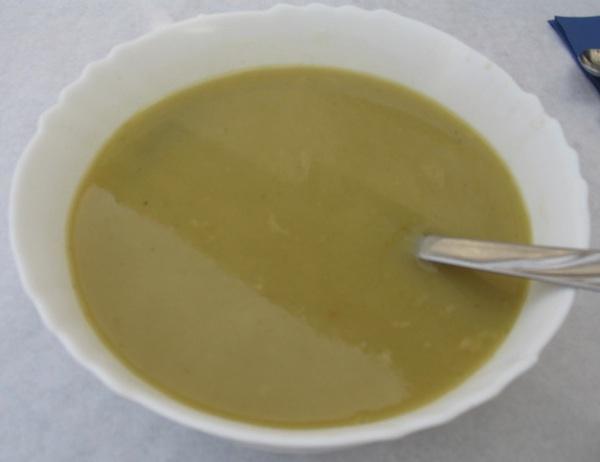Zdjela poslužene zelene juhe od rajčice (Fotografija Božica Brkan)