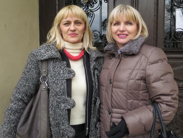 Dobre duše turizma: Ankica Bešter iz TZ Ivanić Grada i Ružica Rašperić iz TZ Zagrebačke županije (Fotografija Božica Brkan / Oblizeki)