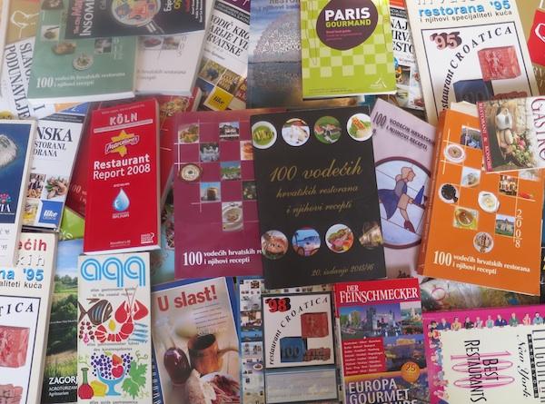 Različiti vodiči po restoranima iz cijelgoa svijeta (Fotografija Božica Brkan / Oblizeki)