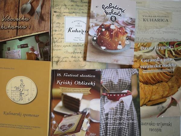 Neke od prošle godine objavljenih kuharica s lokalnim temama (Fotografija Oblizeki)