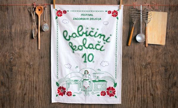 Vizualno rješenje jubilarnih 10. Babičinih kolača