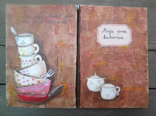Brankičin rođendarski dar za djevojčicu Galinu Moja prva kuharica bila je grafički uzor za prvu kuharicu Brankice Iris
