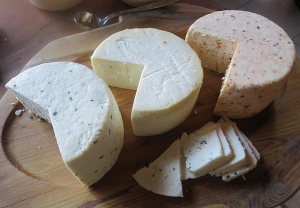 DIo mliječnoga stola s tvrdim finim sirevima sa zaćinima (Fotografija Božica Brkan / Oblizeki)