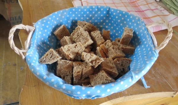 Kruh ispečen od brašna mljevenog u dravskoj vodenici (Fotografija Božica Brkan / Oblizeki)