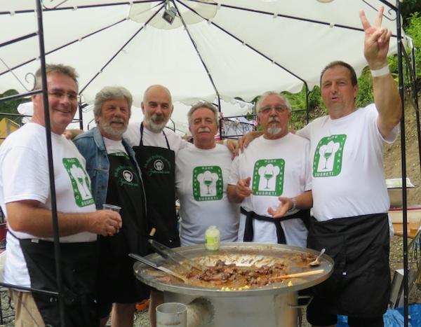 Pobjednici ekipe Tomaš drugoga imena Ludi geodeti poslije proglašenja (Fotografija Miljenko Brezak / Oblizeki)