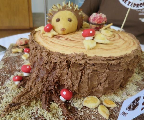 Pobjednička torta s prošlogodišnje izložbe (Fotografija Miljenko Brezak / Oblizeki)