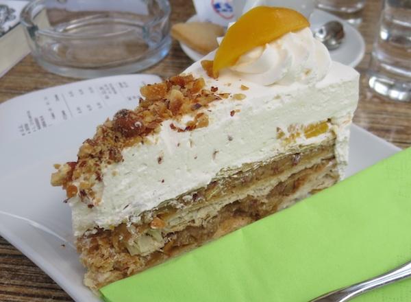 Reinterpretiranu tortu Frankopan gotovo četvrt stoljeća nudi crikvenički Hotel International (Fotografija Božica Brkan / Oblizeki)