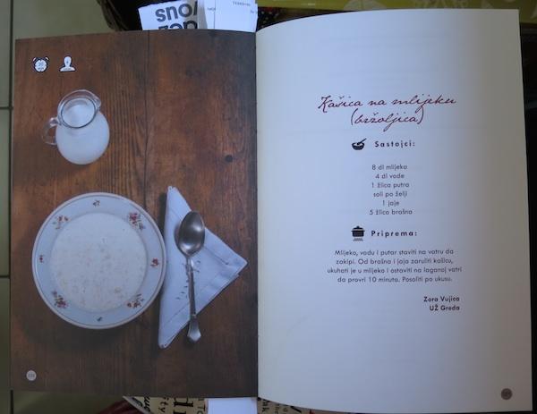 Duplerica s bržoljicom odnosno kašicom na mlijeku