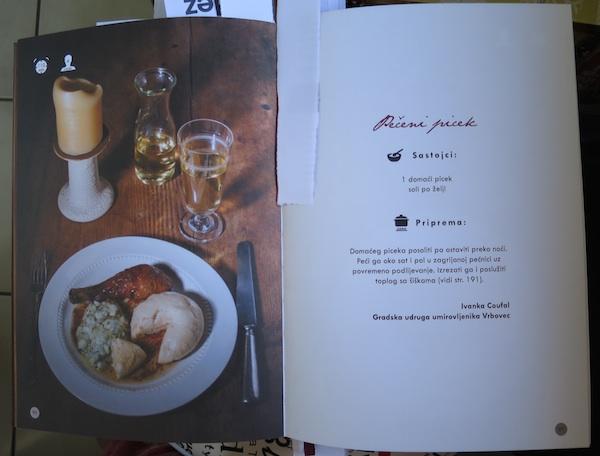 Duplerica presnimljen iz knjige: pečeni picek i šiške
