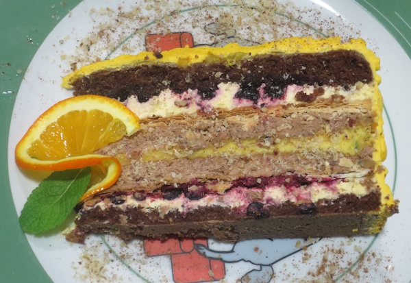 U Ozlju promoviraju kreiranu i zaštićenu tortu Katarina Zrinski (Fotografija Božica Brkan / Oblizeki)