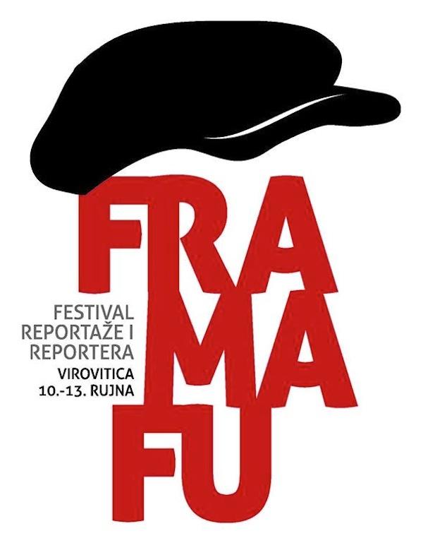 Logotip novinarskog festivala Fra Ma Fu u Virovitici