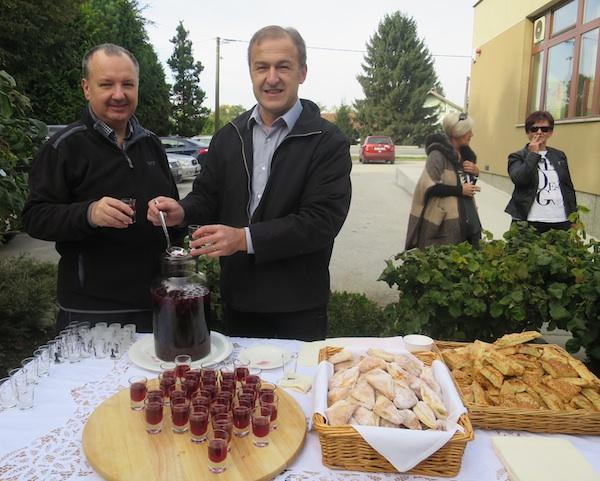 Slatki i slani doček u Mamici (Fotografija Božica Brkan / Oblizeki)
