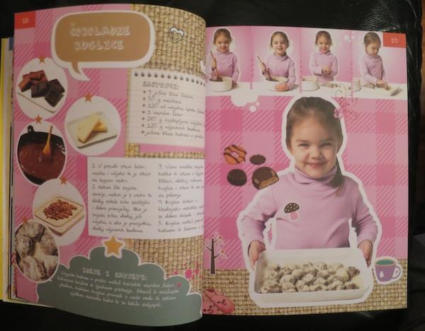 Ona je napravila slatke kuglice