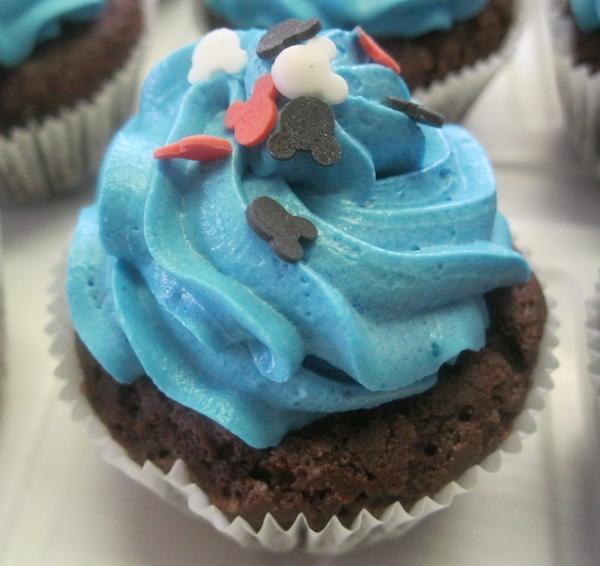 Vesnin cupcake za dječji rođendan, drugi (Fotografija Božica Brkan / Oblizeki)
