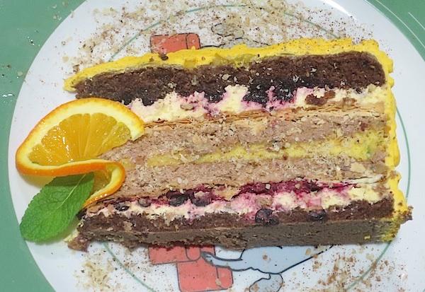 Raskošnija iznutra negoli izvana torta Katarina Zrinska (Fotografija Božica Brkan / Oblizeki)