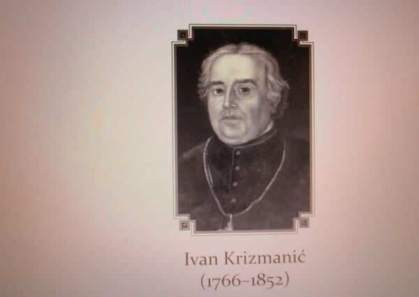 Portret zaslužnoga velečasnoga Ivana Krizmanića