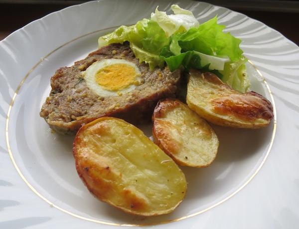 Fina štruca od mljevenog mesa s krumpirima (Fotografija Božica Brkan / Oblizeki)