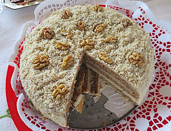 Starinska, jednostavna torta od oraha (Fotografija Miljenko Brezak / Oblizeki)