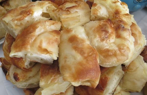 Pita na tanjuru (Fotografija Božica Brkan / Oblizeki)