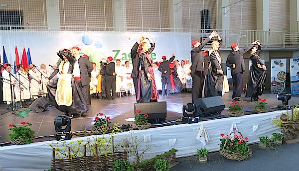 Zagorcima su Solinjani predstavili i svoje stare plesove (Fotografija Miljenko brezak / Oblizeki)