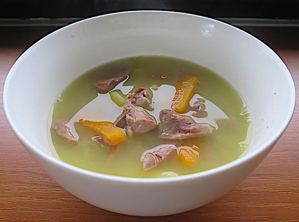 Moja juha od luka s mrkvicom, krumpirom i pilećim želučićima (Fotografija Božica Brkan / Oblizeki)