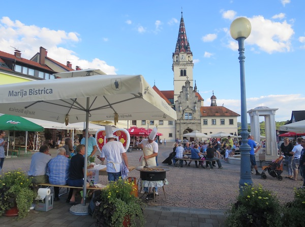 Mnogima poznat glavni bistrički trg (Fotografija Miljenko Brezak / Oblizeki)