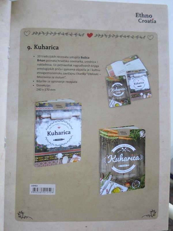 Iz kataloga Eurocona: stranica s kuharicom