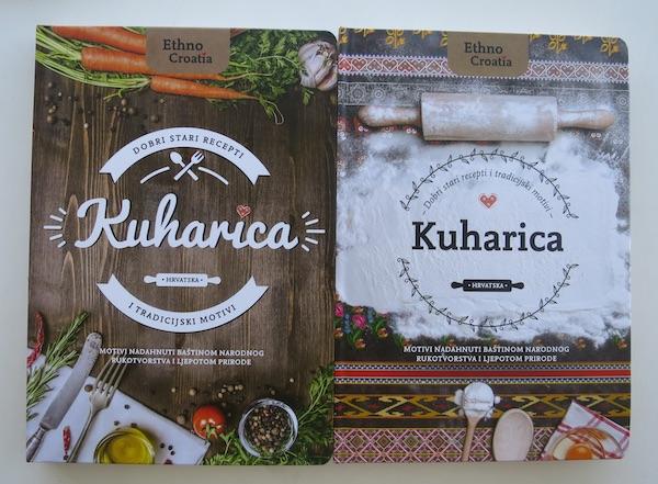 Oba dizajnerska rješenja naslovnice nove suvenirske kuharice