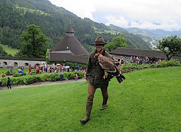 Spoj povijesti i prirode u Burgu Hohenwerfen (Fotografija Božica Brkan / Oblizeki)