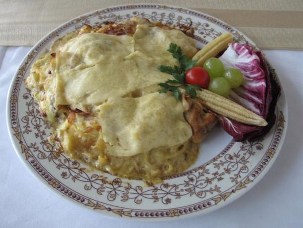 Čak i u lasagnama (Fotografija Božica Brkan)
