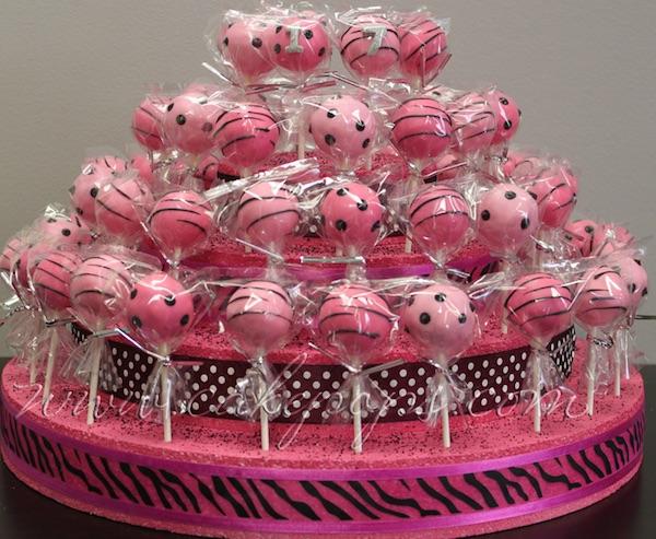 Ideja za proslavu dječjega rođendana u vrtiću: torta samo podloga (Fotografija Pinterest http://cakepopsideas.com/cake-pop-displays/)