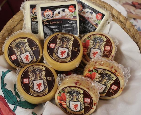 Dio predstavljenih sireva (Fotografija Miljenko Brezak / Oblizeki)