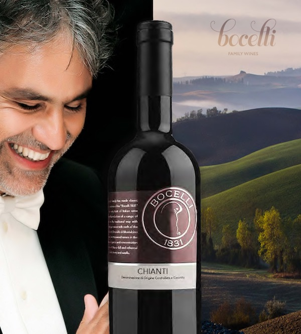 Svjetska pjevačka zvijezda iz Toskane s Chiantijem i drugim odličnim vinima iz svoje regije