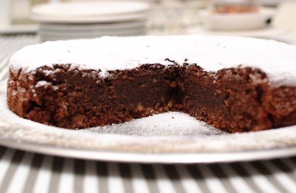 Fina torta Caprese poput salate (Fotografija Božica Brkan / Oblizeki)