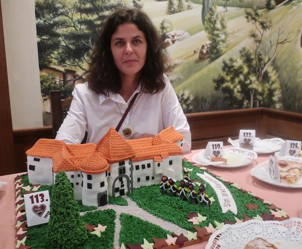 Torta Stari grad Varaždin i još jedna pobjeda Nikoline Horvat rabuzin, koja je spojila svoje rodno i mjesto stanovanja (Fotografija Miljenko Brezak / Oblizeki)