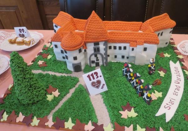 Torta Stari grad Varaždin (Fotografija Miljenko Brezak / Oblizeki)