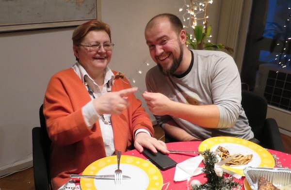 Božica Brkan s oblizeka o hrani, a Ivan Brezak Brkan Netokracije o hrani i IT tehnologiji (Fotografija Miljenko Brezak / Oblizeki)