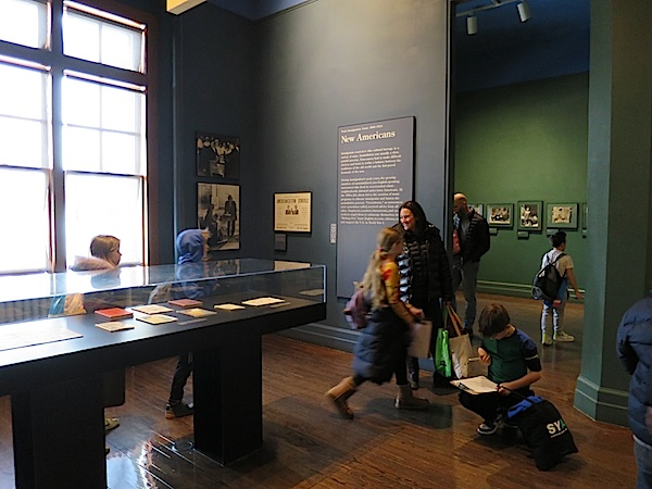 Imigrantski muzej obilaze i Amerikanci i stranci, i veliki i maleni (Fotografija Božica Brkan / Oblizeki)