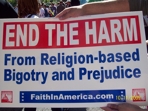 National equality march end the harm