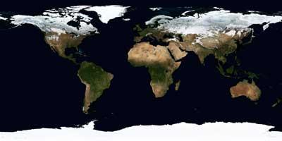 La Tierra, en diciembre de 2004
