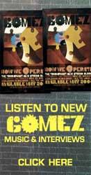 Un anuncio de la banda Gomez en Pandora