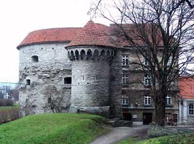 Un torreón de la muralla