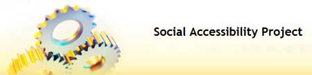 La imagen gráfica del Social Accessibility Project de IBM