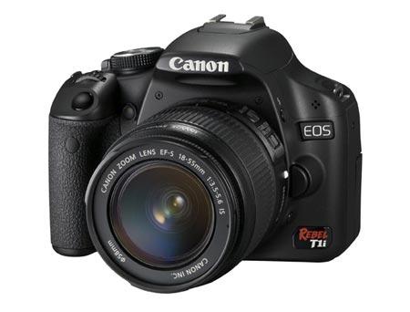 La cámara réflex digital Canon EOS 500D